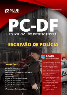 Apostila Concurso PC DF 2020 Escrivão de Polícia Grátis Cursos Online