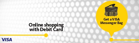Can i shop online with a visa debit card