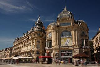 Free tour, Plaza de la comedia en Montpellier