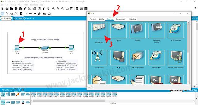 Cara Memberi IP Address di Cisco Packet Tracer