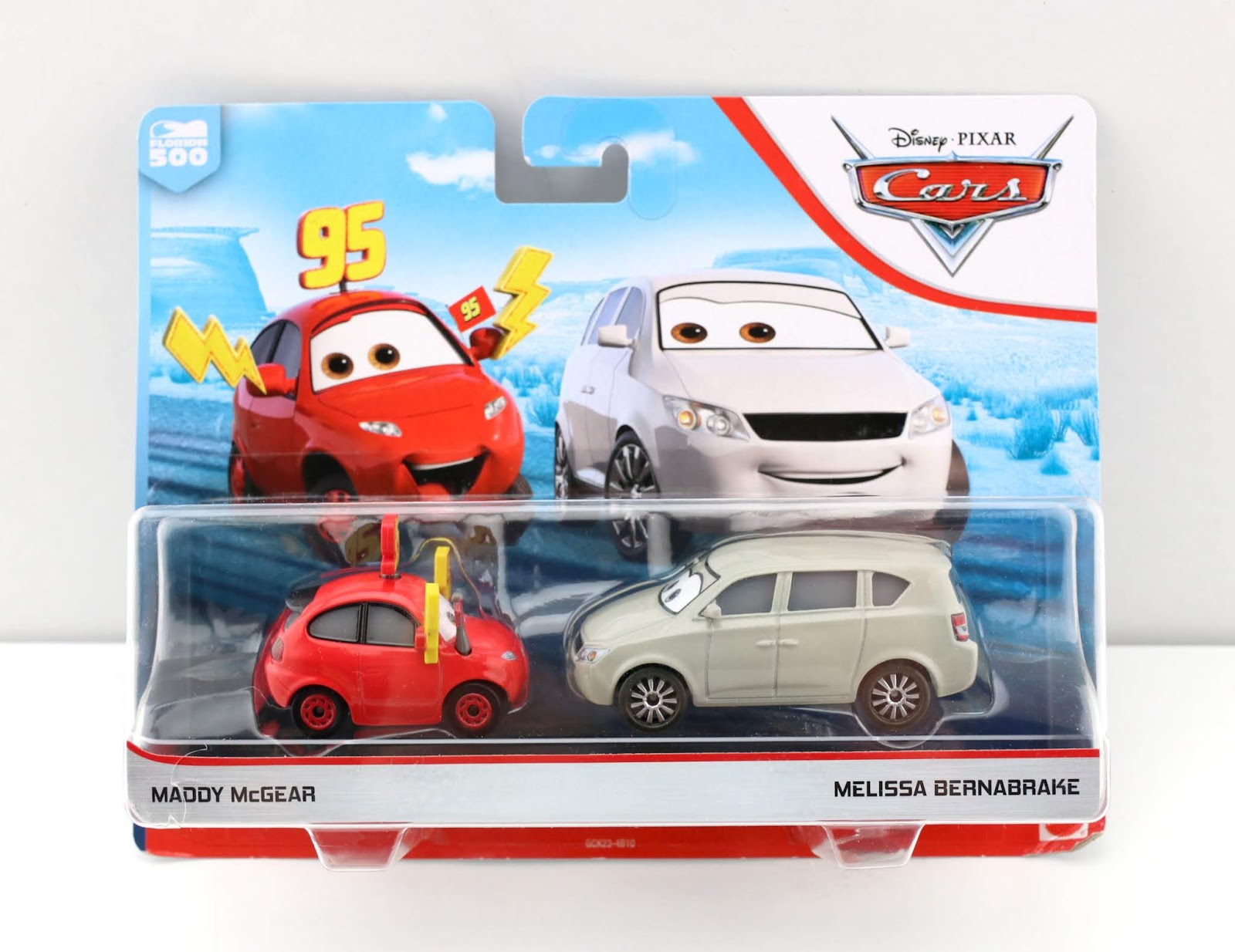Cars 3 Maddy McGear and Melissa Bernabrake diecast review