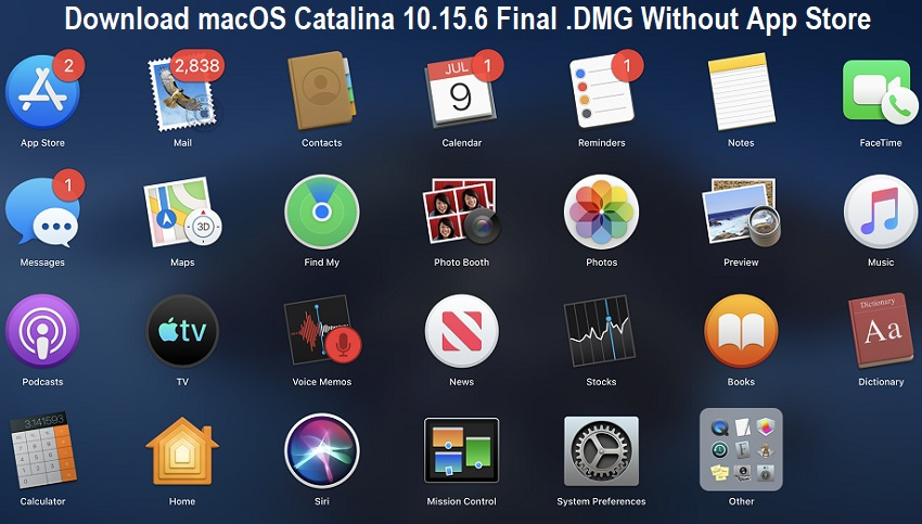 Download macOS Catalina 10.15.6 Final .DMG Without App Store