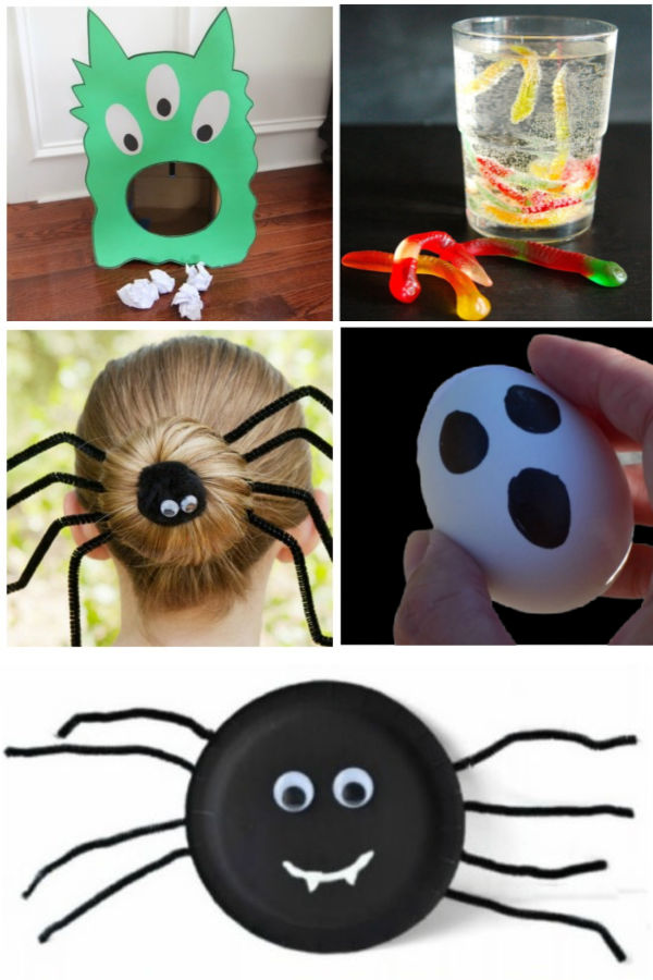 Halloween crafts and activities for kids #halloween #halloweencraftsforkids #kidshalloweenactivities #growingajeweledrose