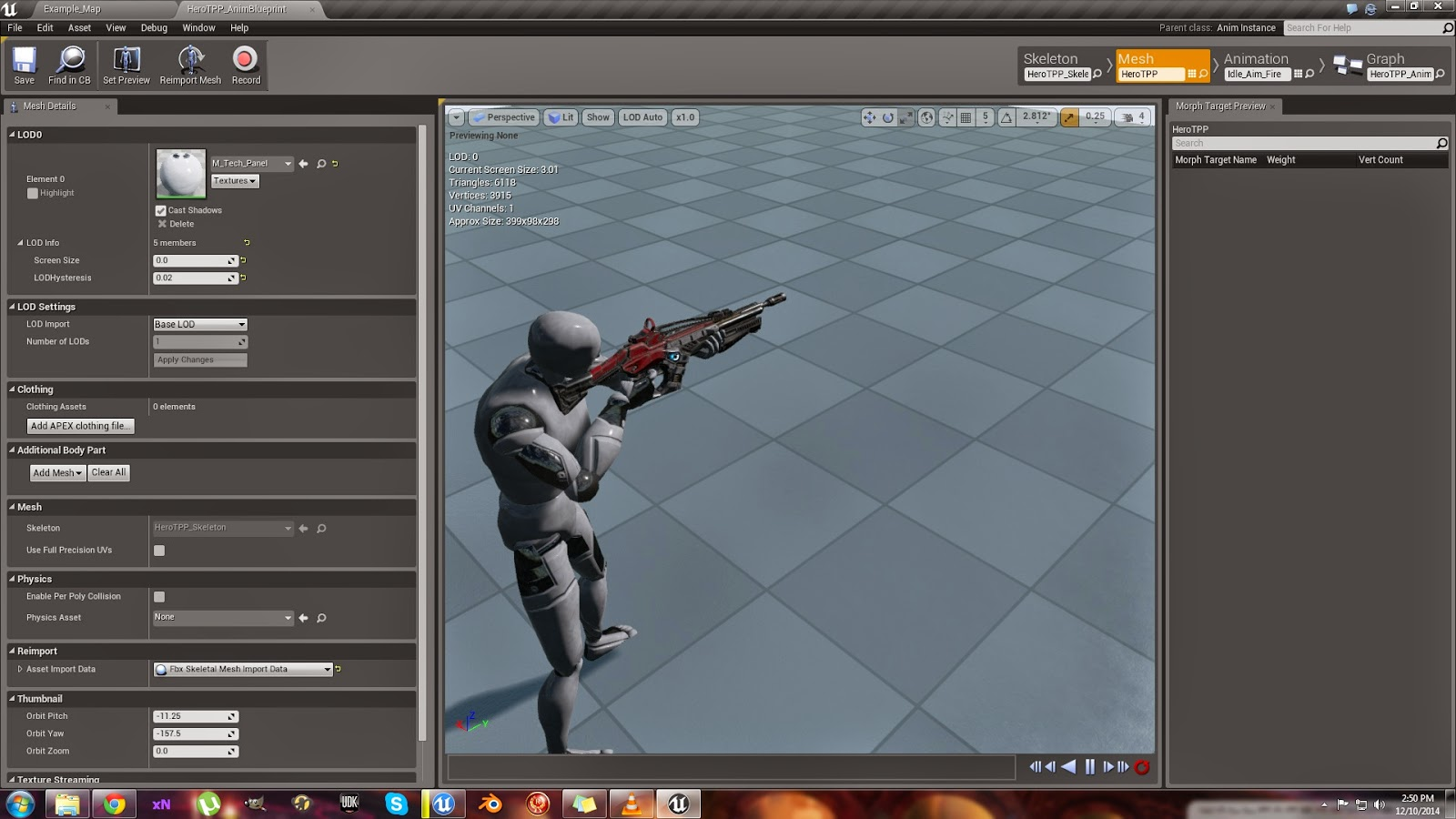 Unreal possibilities unreal engine 4 dev update 8 new rifle locked loaded malvernweather Gallery