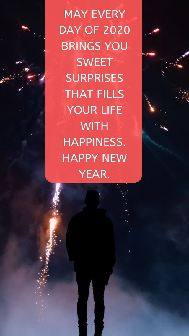 Happy New Year 2020 Instagram Stories pictures in English