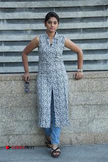 Telugu Television Actress Karuna Latest Pos In Denium Jeans  0078.JPG