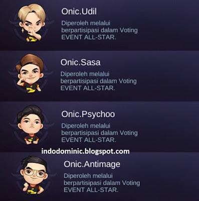 ONIC Esports Mobile Legends Battle Emote Script