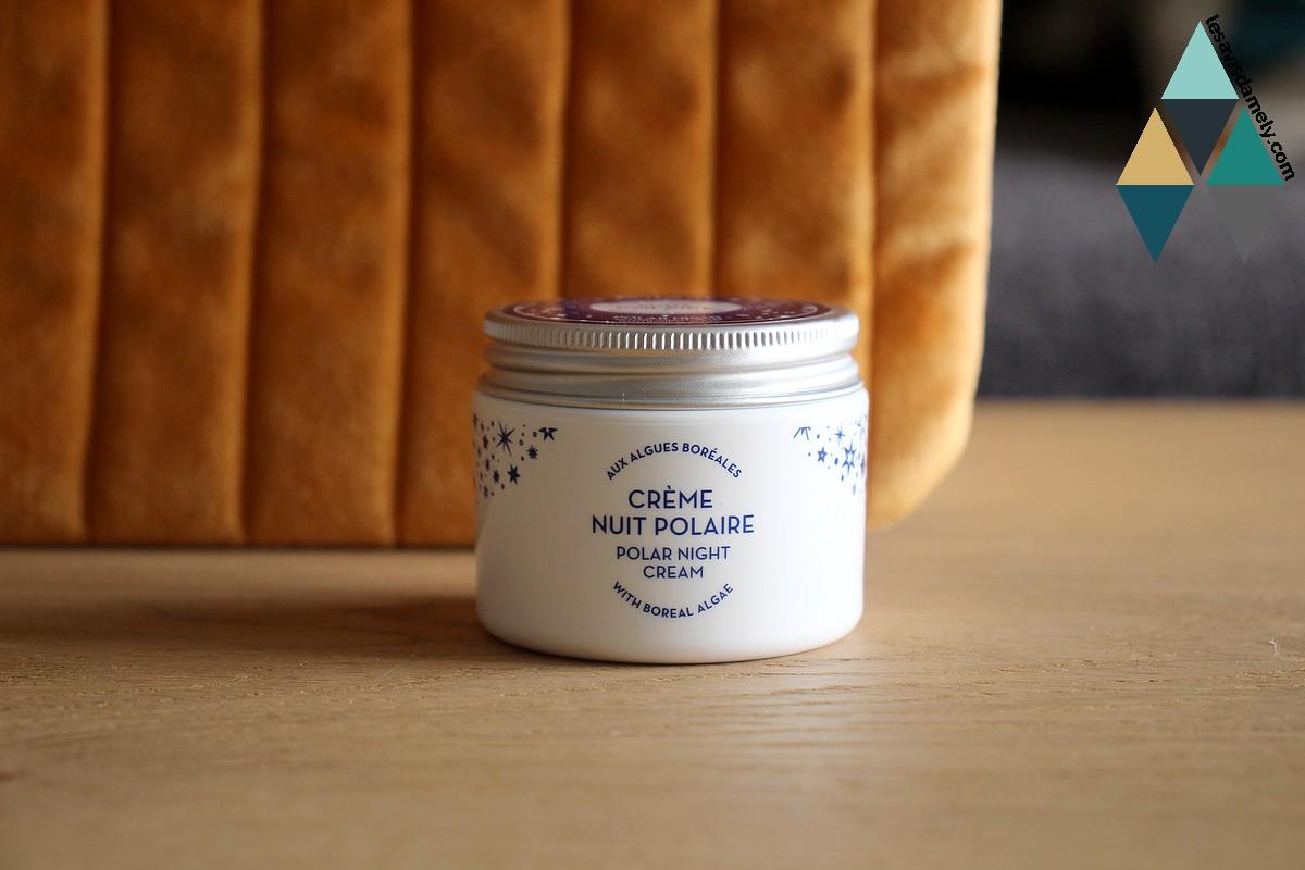 revue beauté crème visage revitalisante nuit polaire polaar