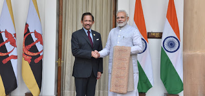 India and Brunei sign MoU for Exchange of Information notified