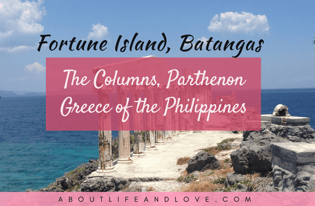 Fortune Island, Batangas The Columns, Parthenon Greece Of The Philippines