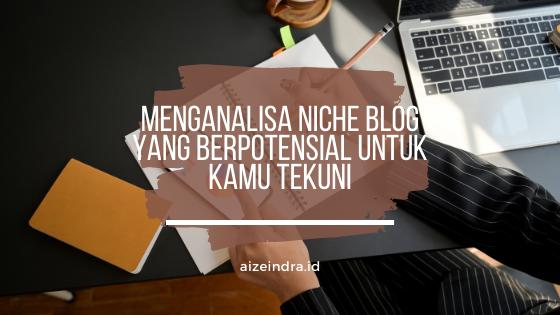 analisa niche blog