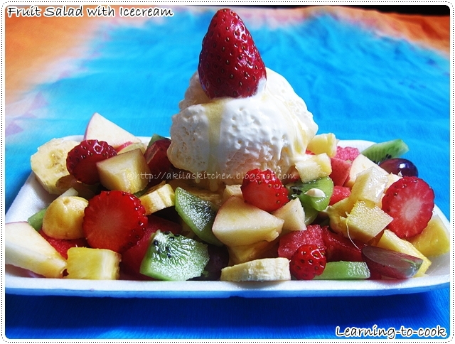 Fruit Salad Icecream