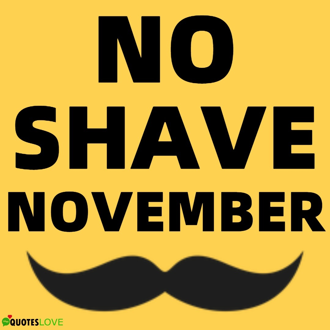 (Latest) No Shave November Status For Whatsapp