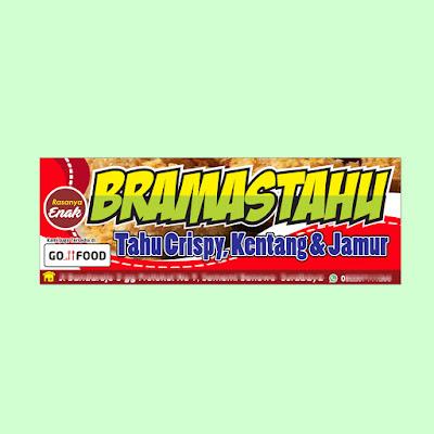 Banner Jamur dan Tahu Crispy yang Bagus