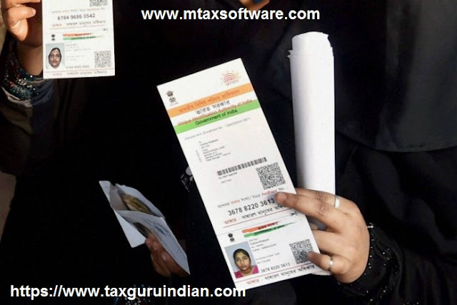 India Govt gives nod for Aadhaar-Voter ID linking 1