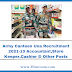 Army Canteen Una Recruitment 2021-10 Accountant,Store Keeper,Cashier & Other Posts