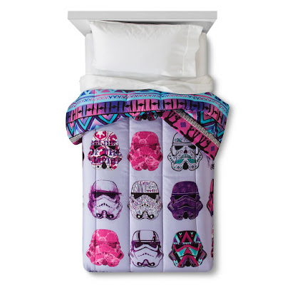 Stormtrooper Comforter Girls Twin Size