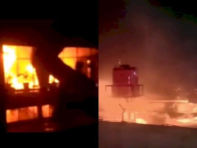Video Detik-detik Mengerikan 41 Napi Lapas Tangerang Terpanggang di Sel yang Terkunci