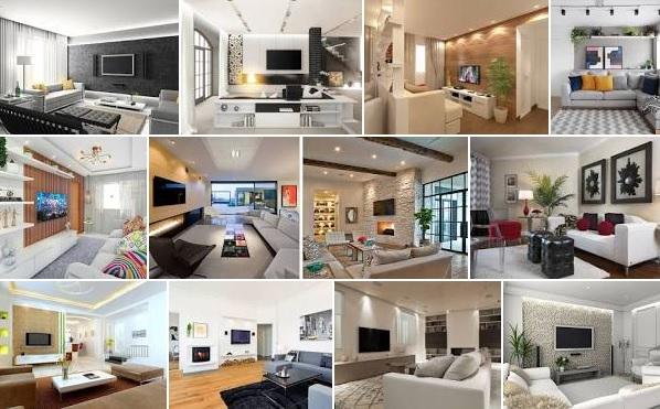 42 Impresionantes diseños modernos de sala de estar