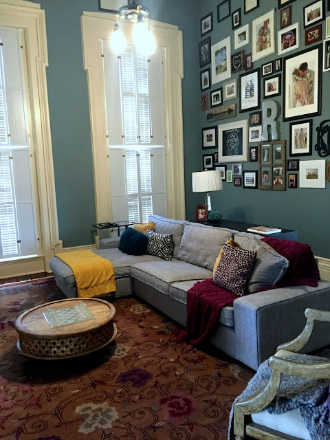 tips on hanging a gallery wall