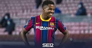 """El delantero del Barcelona Ansu Fati evoluciona """"muy satisfactoriamente"""" de su lesión de menisco"""