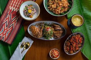 KAUM Jakarta, Sajian makanan otentik Indonesia