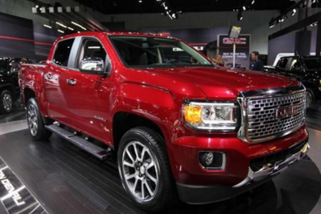 2018 GMC Canyon Redesign, Price, Specs