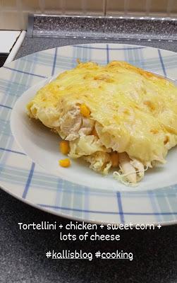 Τορτελίνια στο φούρνο, Kalli's blog