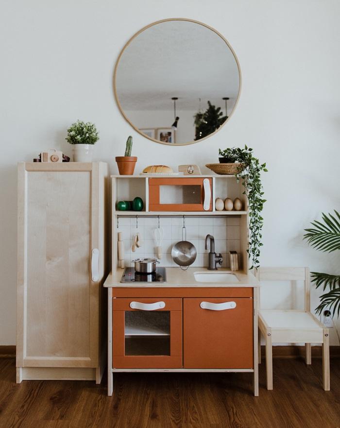 ikea kitchen and fridge hack