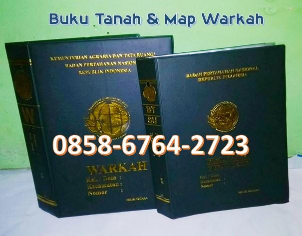 Cetak Map Warkah / Buku Tanah 0858-6764-2723