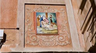Estación n°13. Descenso de la cruz (Desaparecida)