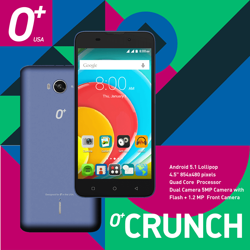 O+ Crunch announced