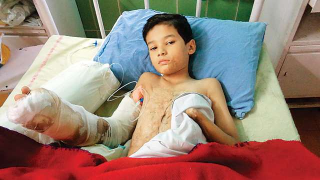 As Diwali gift, 10-yr-old Nepal resident Virendra Singh gets his fingers back