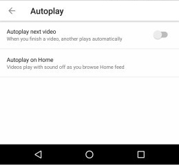 "New Youtube Feature ""Autoplay  on home"""