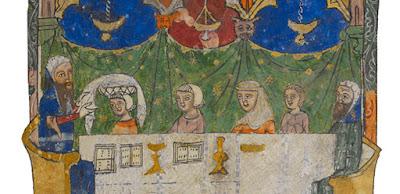 As seis mulheres na mesa de Pessach