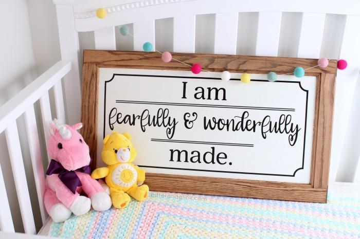 Pitterandglink Make This Easy Diy Nursery Art From A