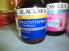 Kembalikan tenaga bersama Blackmores Multivitamins & Minerals