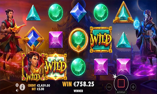 Main Gratis Slot Indonesia - Aladdin and the Sorcerer (Pragmatic Play)