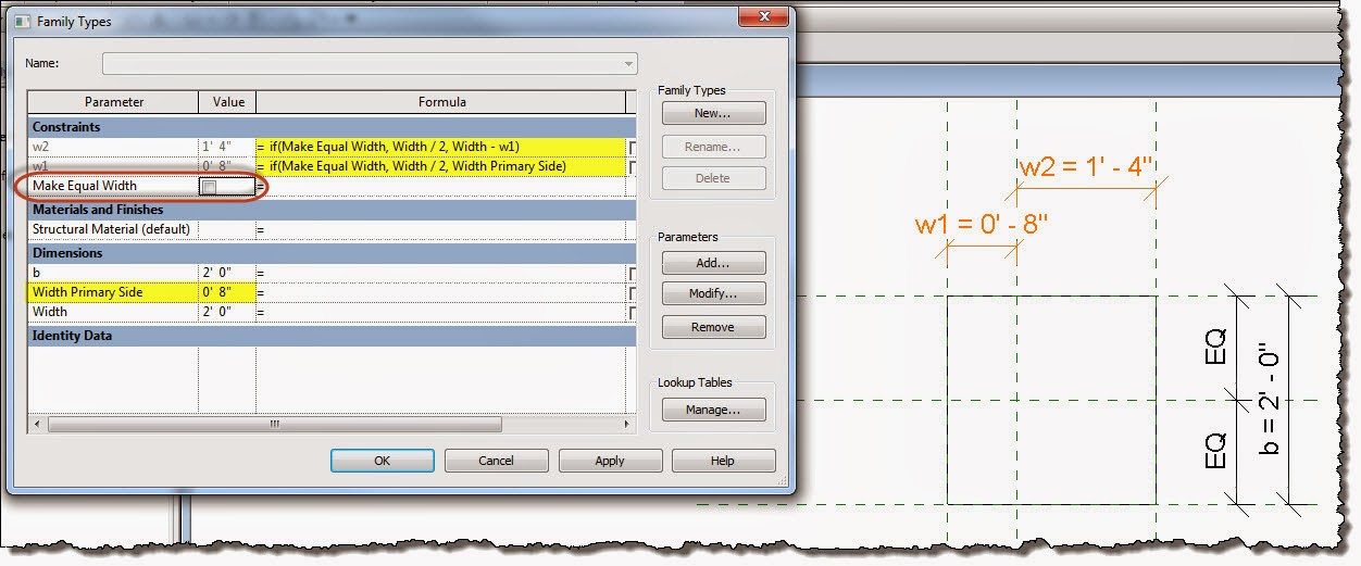 Revit OpEd: EQ Constraint without EQ