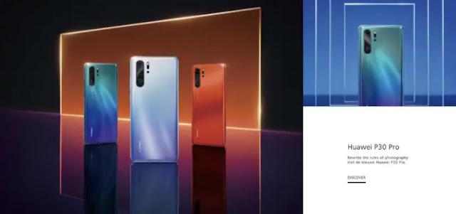 Huawei P30 Pro Huawei P30 cover