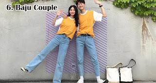 Baju Couple merupakan salah satu ide usaha yang laku keras menjelang valentine