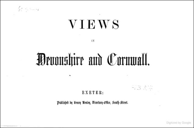 Views in Devonshire and Cornwall