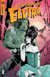 Cover C for The Shape of Elvira #3 from Dynamite Entertainment