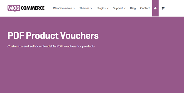 WooCommerce PDF Product Vouchers v3.9.2 nulled free download.