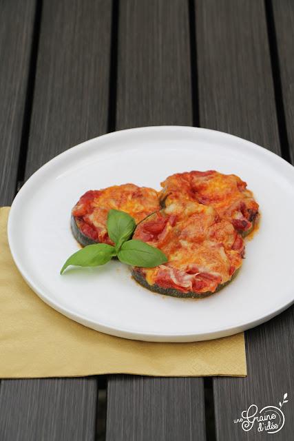 Pizza Courgette Recette Facile Rapide Pas Cher