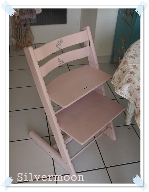 silvermoon trip trap f r lara gestrichen. Black Bedroom Furniture Sets. Home Design Ideas