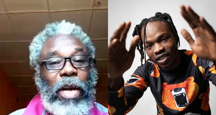 Moment Naira Marley Gave Grandpa N1million For Singing His Song From Start To End (Video) #Arewapublisize