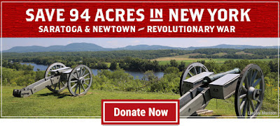 Save 94 Acres at Two Revolutionary War Battlefields in New York State