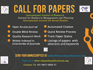 Call for Papers August 2018
