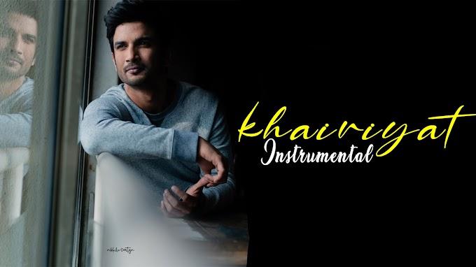 Khairiyat ( House Mix ) | Instrumental | Dj Nikhil Martyn